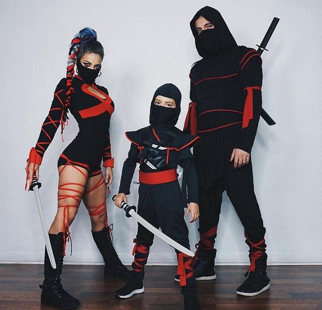 ¿Cómo hacer un traje de ninja casero?